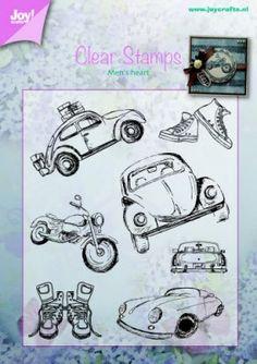 Joy Clear Stamp 6410-0371 - Stempel Techniek Hobbyshop Nellie Snellen
