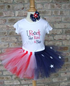 @Dannielle Cresp Campanella this is too cute for 4th of July!