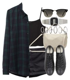 """""""Style #5944"""" by vany-alvarado ❤ liked on Polyvore featuring Mode, H&M, Monki, Étoile Isabel Marant, Forever 21, Casio, Mulberry, Converse und Ray-Ban"""