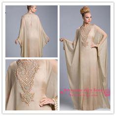L'arrivée de nouveaux 2014 célèbre. caftan design dubaï. fantaisie. farasha abaya jalabiya islamique. à manches longues robe de bal robes de soirée