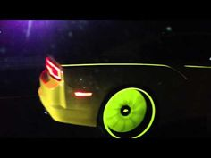 Glow in the dark cars, amazing REAL LIFE Tron cars.  www.youtube.com/watch?v=blEI-64G6ZM