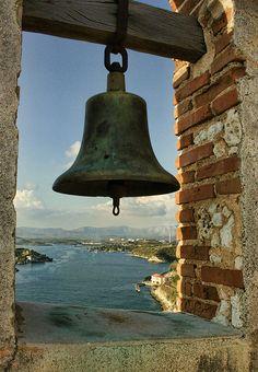 bahía de Santiago de Cuba desde el Morro