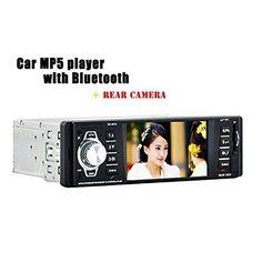 Oferta: 54.50€ Dto: -20%. Comprar Ofertas de BoomBoost Reproductor MP5 coche con Bluetooth coche estéreo FM Radio Audio Digital vehículo reproductor de vídeo Soporte Blue barato. ¡Mira las ofertas!