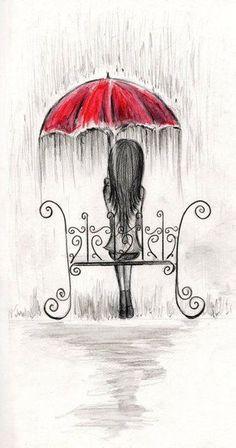 Diy # For the sad days - Zeichnungen traurig - Kunst Disney Art Drawings, Sad Drawings, Tumblr Drawings, Pencil Art Drawings, Drawing Sketches, Drawing Ideas, Sketching, Pencil Drawing Tutorials, Sketch Art