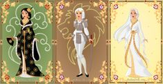 This is my entry for the contest currently being hosted on . All three dolls were made using the Heroine doll game ([link]) by . The theme of the contes. Azalea Dress Up, Disney Princess Fashion, Doll Divine, Dress Up Dolls, Medieval Fashion, Doll Maker, Disneyland, Fairy Tales, Aurora Sleeping Beauty