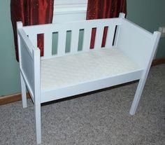 DIY co sleeper bassinet