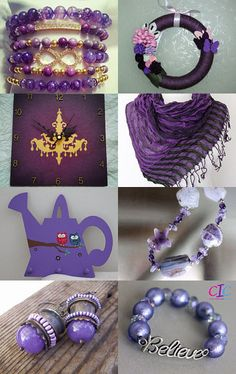 --Pinned with TreasuryPin.com Hanukkah, Royalty, Purple, Etsy, Color, Inspiration, Jewelry, Royals, Biblical Inspiration