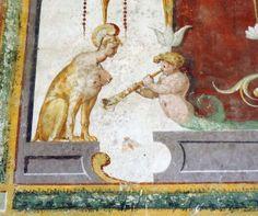 Fresco detail, grotesque, Palladian Villa Badoer _BM