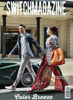 #Hanitapress #ss16 - Switch Magazine Collezione Hanita Spring/Summer 2016 in prima pagina per Giugno su Switch Magazine, fashion-lifestyle magazine.  www.hanita.it - @hanitafashion