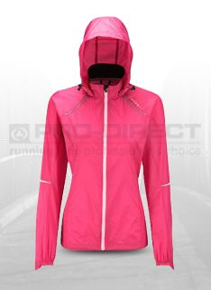 Ronhill Womens Trail Microlight Jacket - Womens Running Clothing - Rose-Blossom