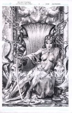 Jay Anacleto - Dejah Thoris Cover - $5000, in Malcolm Bourne's 000 New Art for Sale Comic Art Gallery Room - 1168675
