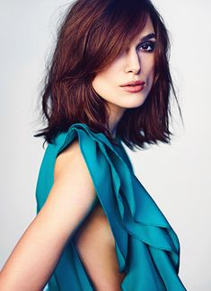 Keira Knightley by Nathaniel Goldberg for Marie Claire, I like her hair. Keira Christina Knightley, Keira Knightley Hair Short, Her Hair, Hair Inspiration, Short Hair Styles, Hair Makeup, Hair Cuts, Hair Beauty, Actresses