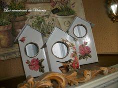 Las creaciones de Victoria: Casitas de pájaros con tetrabricks !!!