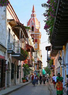 Cartagena (de Indias), Colombia. In 1533 gesticht door de Spanjaarden en sinds 1980 op de werelderfgoedlijst van Unesco (by fetorres56)