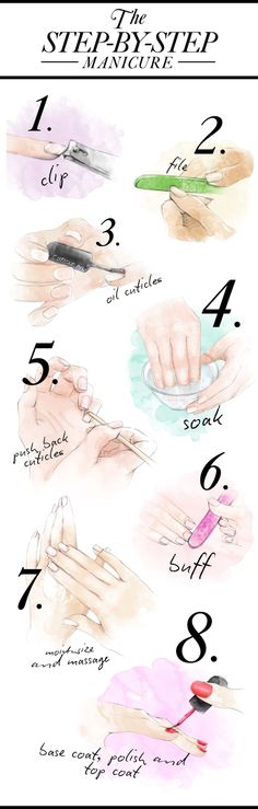 Do This For The Most Perfect Manicure! #nailart #nails #nailcare #howto - bellashoot.com