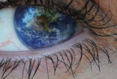 I see the whole world when I look into your eyes Expanding Universe, Gadgets, Map Globe, Happy Earth, Earth Day, Planet Earth, Great Words, That Way, Awesome
