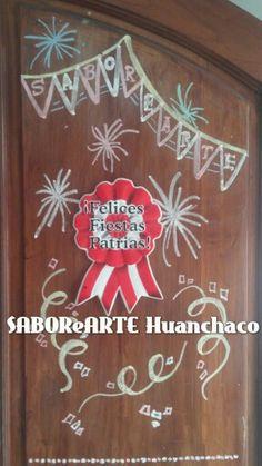 Board de Fiestas Patrias en Saborearte
