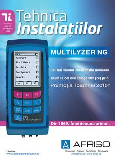 Revista Tehnica Instalatiilor nr. 08_137_2015 Calculator, Electronics, Journals, Consumer Electronics