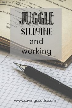 Feeling overwhelmed, studying to find enough money? Working whilst studying is a great option but is important to get the balance right.