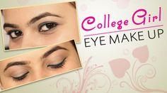 Blue Eye Makeup, Lip Makeup, Makeup Tips, Middle School Makeup, Makeup Before And After, Latest Nail Art, Nail Art Videos, Makeup Tutorial For Beginners, Eye Make Up