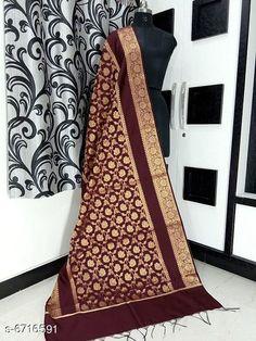 Dupattas Banarasi cotton silk dupatta Fabric: Banarasi Cotton Silk Pattern: Zari Work Multipack: 1 Sizes:Free Size (Length Size: 2.25 m)  Country of Origin: India Sizes Available: Free Size   Catalog Rating: ★4.2 (5673)  Catalog Name: Alluring Attractive Women Dupattas CatalogID_1070724 C74-SC1006 Code: 833-6716591-708