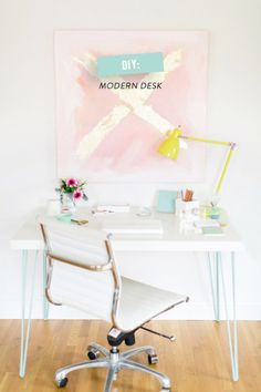 DIY Ikea work desk