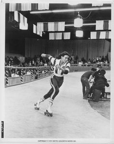 Raquel Welch + Roller Derby = Teen (and adult) dreams made flesh