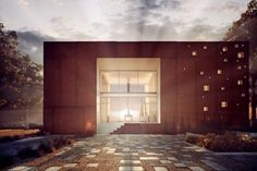 Frame House by 81.WAW.PL (7)