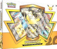 Pokemon 25886 - PKM rote und blaue Kollektion Pikachu-EX Box