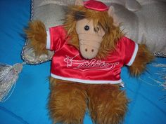 "VINTAGE 1988 ALF HAND PUPPET BY ALIEN PRODUCTIONS ORBITERS 10"" #AlienProductions"