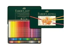 Win a Faber-Castell Color Pencil Polychromos Tin of 120 worth $322.50. Fill your life with artist-approved color!