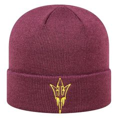 Youth Top of the World Arizona State Sun Devils Tow Cuffed Beanie, Ovrfl Oth