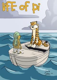 Calvin & Hobbes vs Life of Pi 2