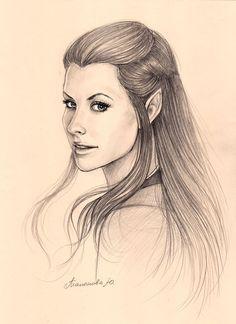 Nicole Evangeline Lilly (Lost, The Hobbit-Tauriel) by Knesya27.deviantart.com on @DeviantArt