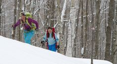 House to House Skiing in Vermont's Green Mountains