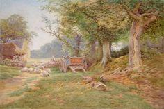 Charles James Adams (1859-1931). Victorian Painter ~ Blog of an Art Admirer