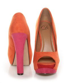 pretty colors...im obsessed with corals and pinks