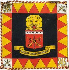 Esquadrão de Cavalaria 253 do Grupo de Cavalaria 345 Angola 1961/1964