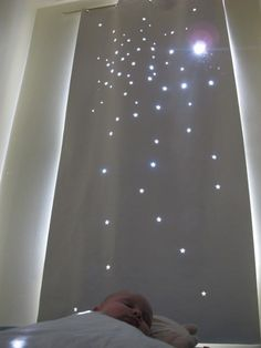 star curtain- this would be so cool in the basement... especially if I end up doing some sort of galaxy thing down there...