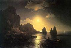 """Ivan Aivazovsky, """"Paesaggio Marino"""" (1841) - di origini armene, è uno dei più grandi pittori di marine del XIX secolo."""