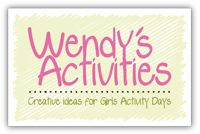 Great website full of ideas for Activity Days