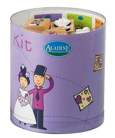 Take a look at this Wedding Stamp Set  by Aladine on #zulily today!