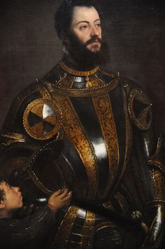 Portrait of Alfonso d'Avalos, Marquis of Vasto - Titian 1533