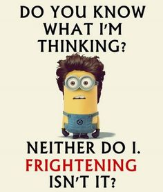 Funny minions photos with captions (12:01:26 AM, Saturday 04, July 2015 PDT) – 20 pics #minions #minion #popular #funny #lol #humor #jokes #cute #funnypics #lmao #fun