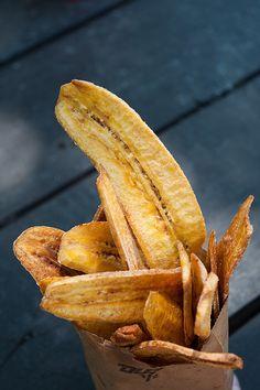 Chips de banana...