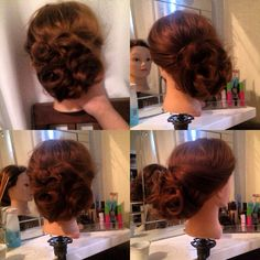Another up style I did so great for prom/graduation