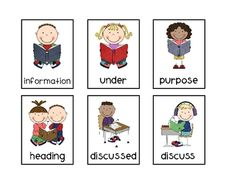 Reading Vocabulary Game