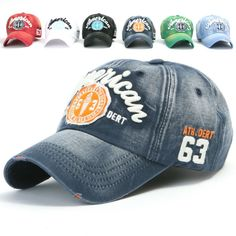 d39e557ebda ililily Distressed Vintage embroidered Patch Pre-curved Baseball Cap with  Adjustable Strap Snapback Trucker Hat