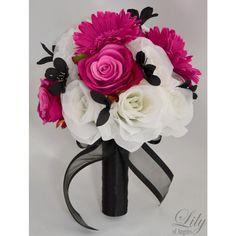 Fuchsia/White/Black