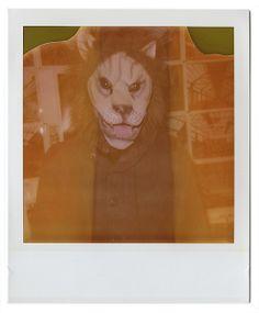 lion mask expired polaroid